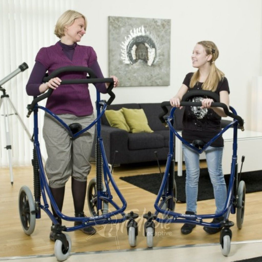 Woman and daughter in their Meywalk 2000 Gait Trainers By Pacific Rehab