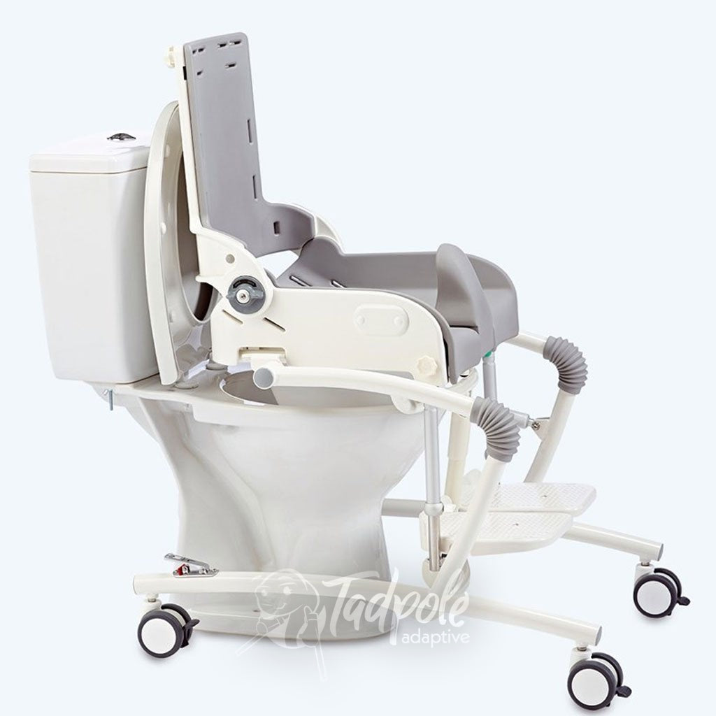 R82 Flamingo High-Low Toilet/Bathing Chair On wheels