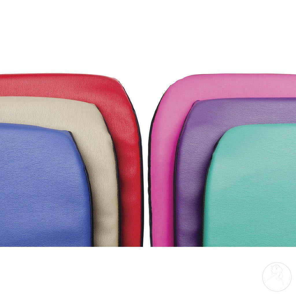Upholstery colors for the Large Rifton Activity Chair.