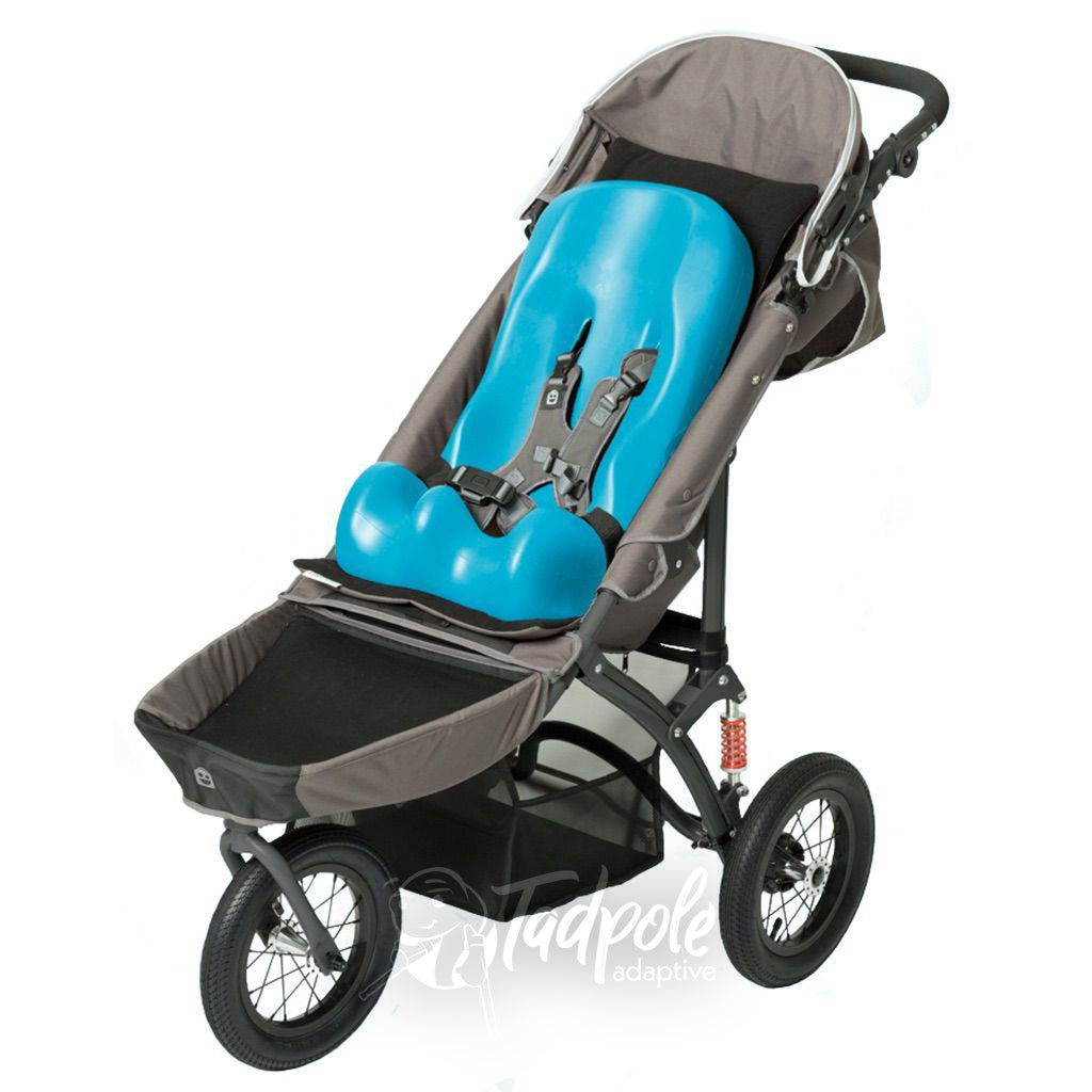 Special Tomato Jogger with Soft Touch Sitter in Aqua.