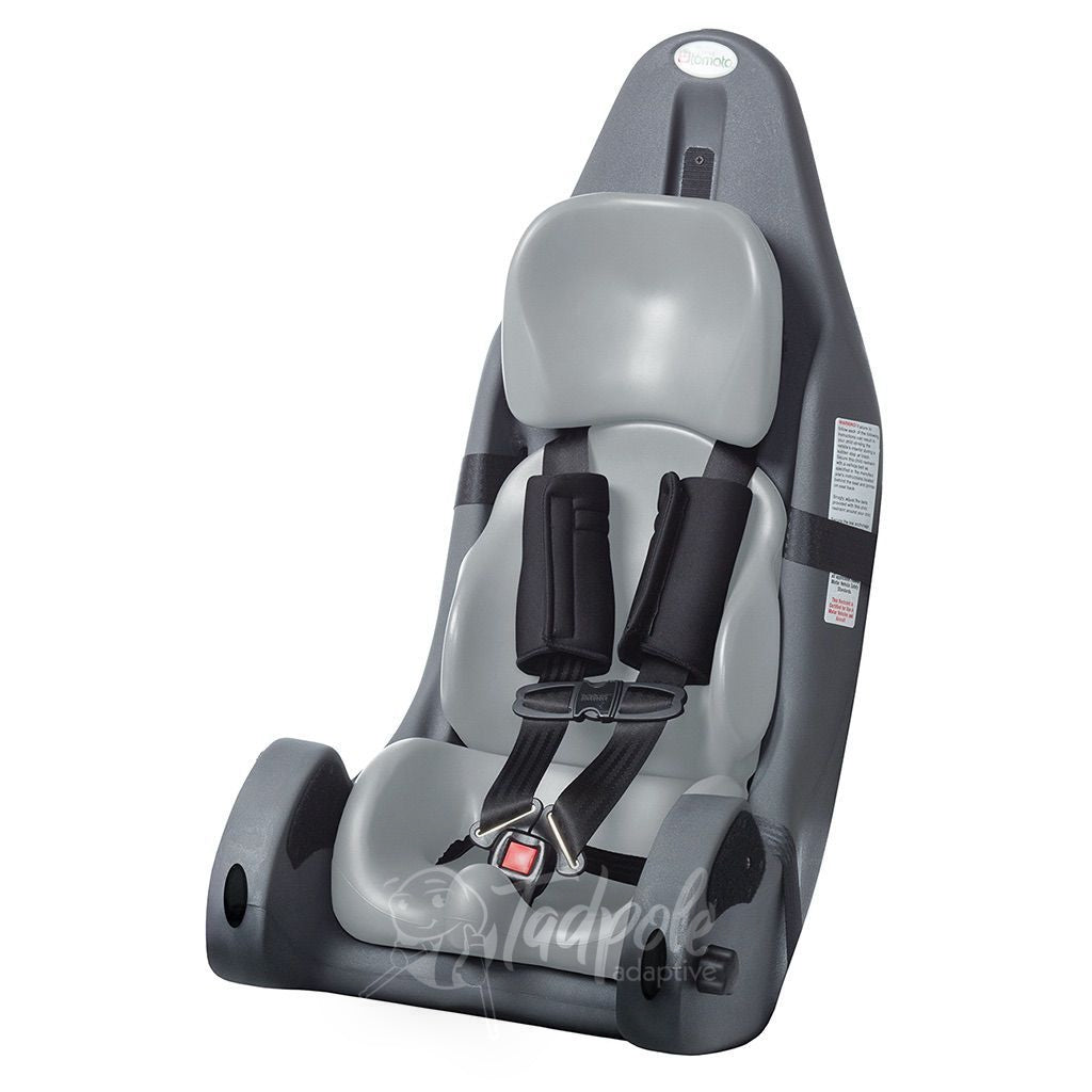 Special Tomato MPS Carseat in light grey.