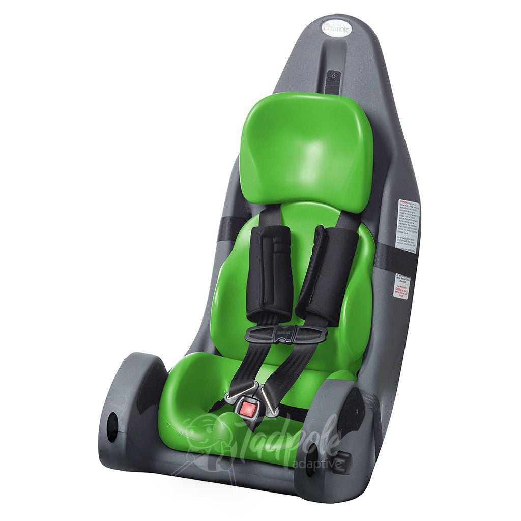 Special Tomato MPS Carseat in lime green.