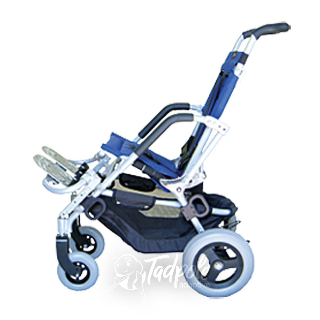 Lightning Stroller By Stealth, profile, side view.