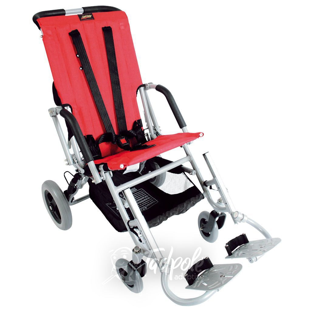 Lightning Stroller By Stealth, in red, main image.