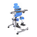 The Jenx Standz Supine Stander, in blue.