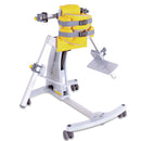 The Jenx Standz Supine Stander, in yellow.