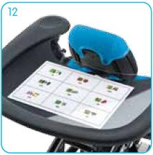Leckey Mygo Stander Communication Tray | Tadpole Adaptive