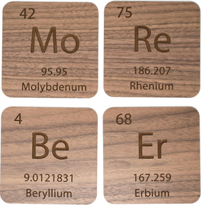 Elements 4 Coaster Set