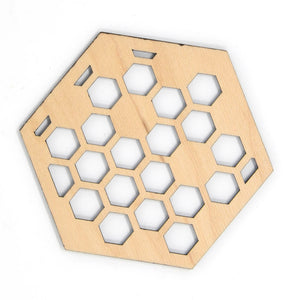 Honeycomb 4 Coaster Set