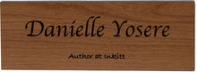 Custom Name Plaque & Stand For Angela
