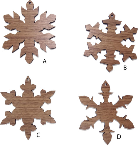 Snowflake Ornament Set