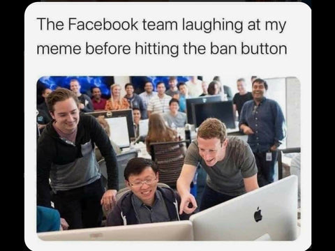 facebook banned memes inappropriate gift co