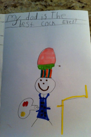 inappropriate gift funniest kids drawing 3