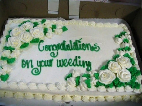 inappropriate wedding cakes