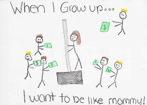 Inappropriate Gift funniest kids drawing 4