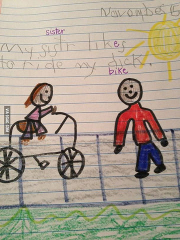 inappropriate gift funniest kids drawings 6