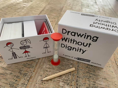 inappropriate gift drawing without dignity fun adult games