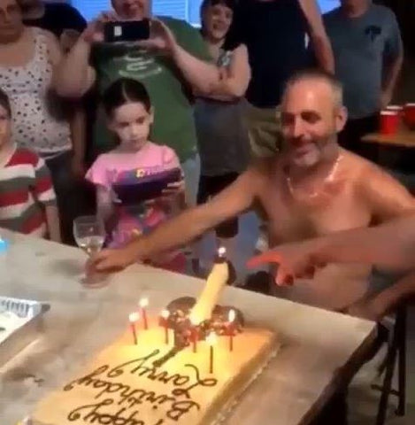Penis Cake inappropriate gift