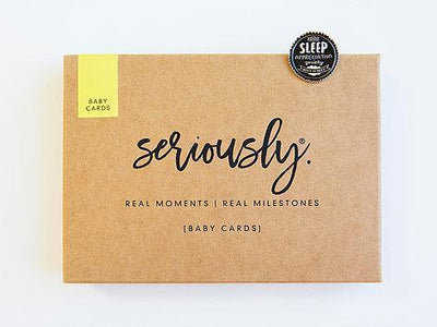 Seriously Milestone Baby Cards