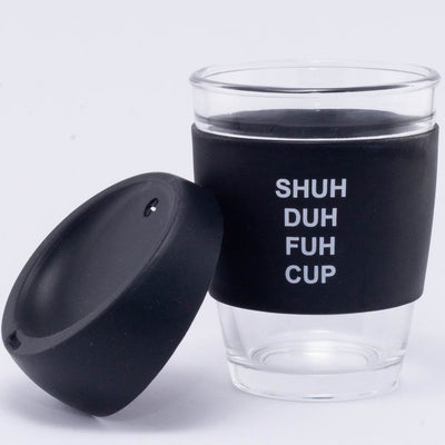 Shuh Duh Fuh Cup glass travel mug