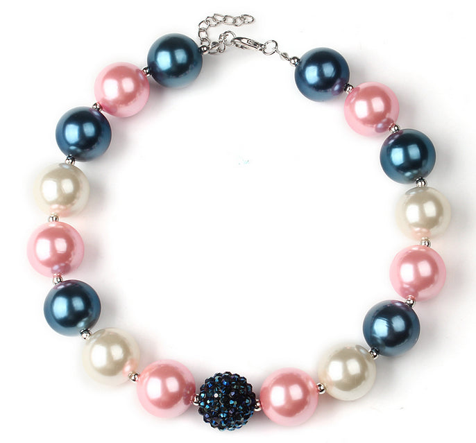 Cotton Candy Bubblegum Necklace