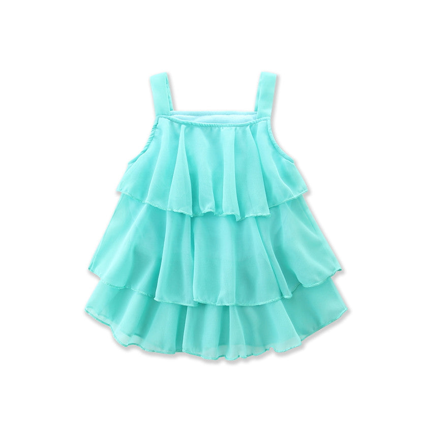 Ruffled Halter Set