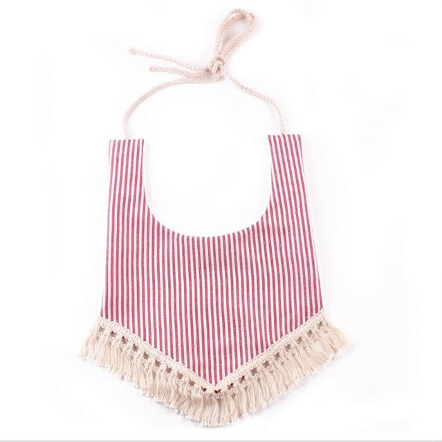Fringe Drool Cloths