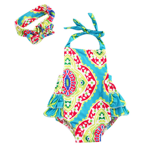 Brighton Sunsuit + Headband