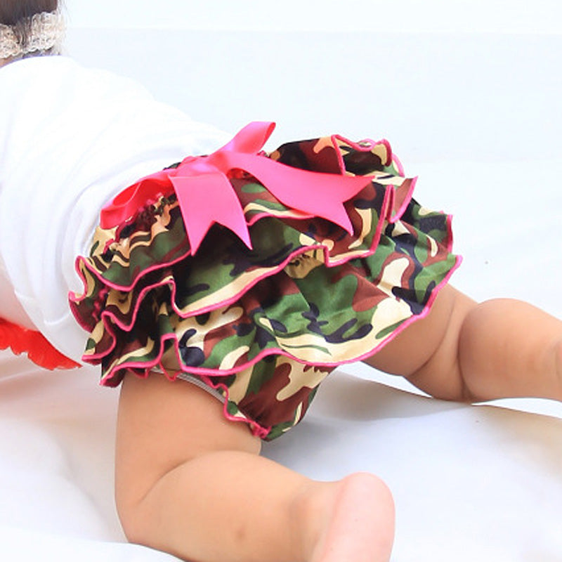 Camouflage Bow Bloomers