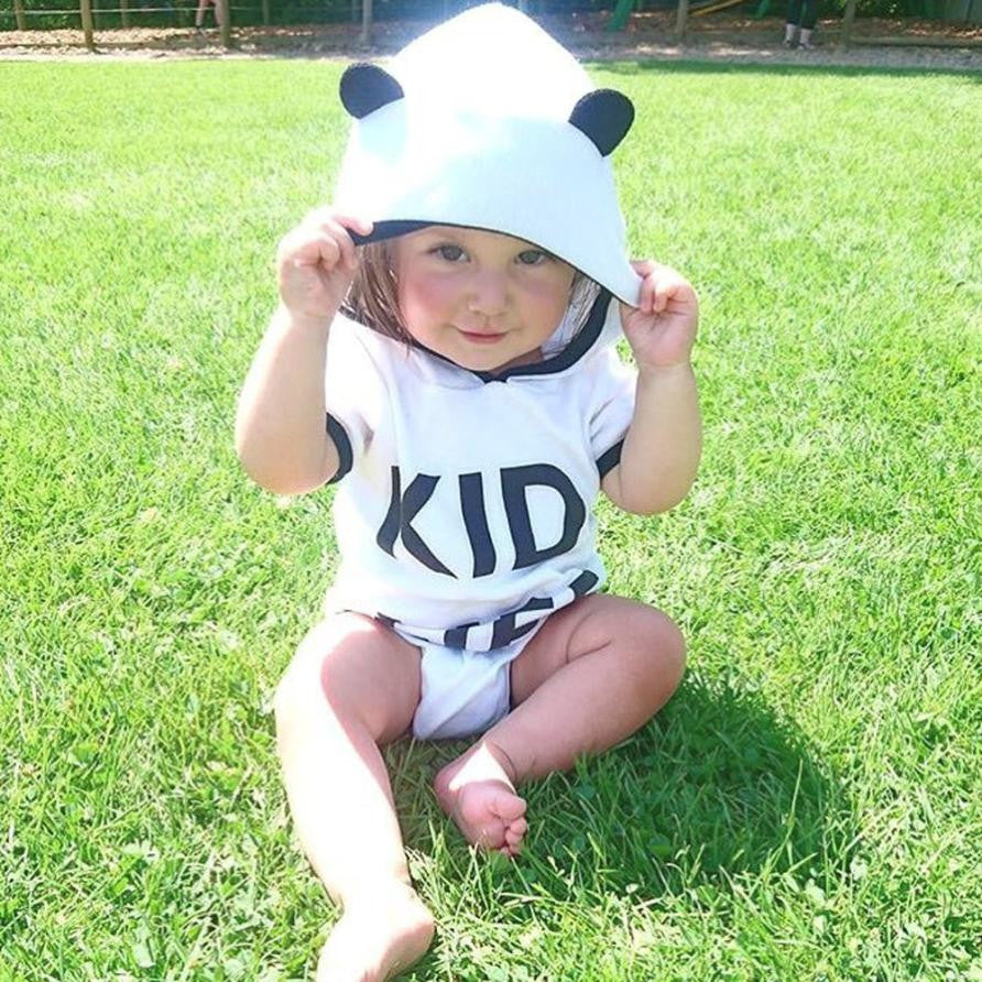 Kid Life Hooded Onesie