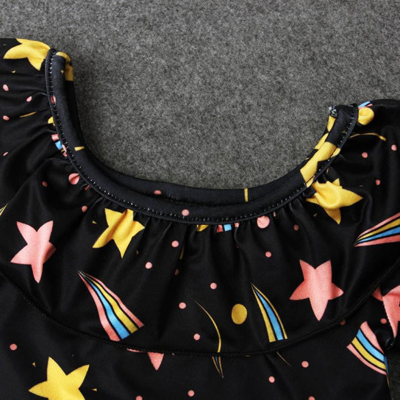 Rainbows + Stars Swimsuit