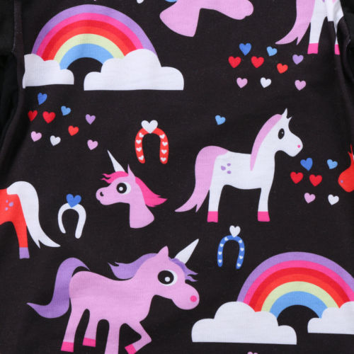 Unicorn + Rainbows Top and Jeans