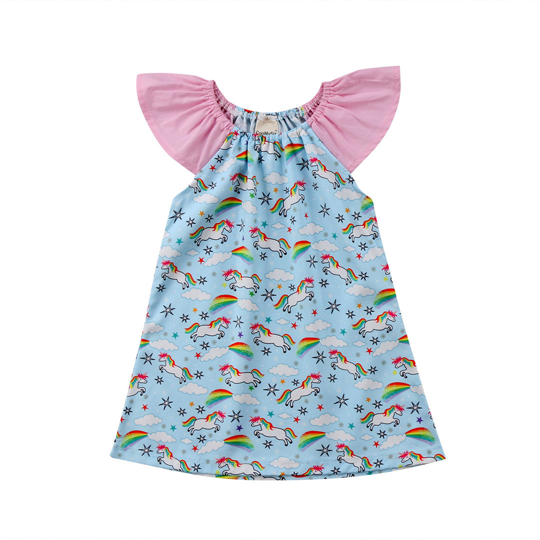 Unicorns + Rainbows Dress