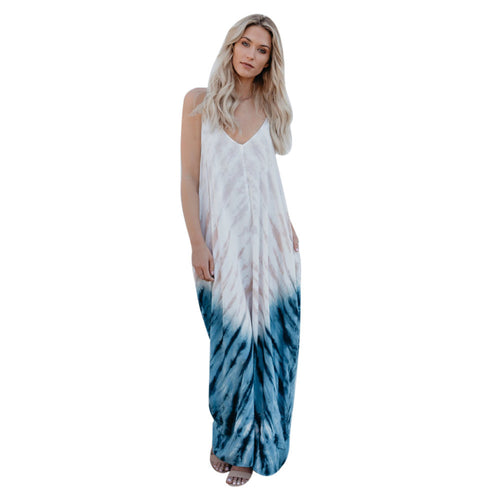 Tie Dyed Boho Dress