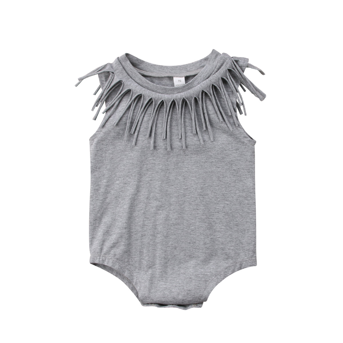 Tee Fringe Onesie - 3 Colors