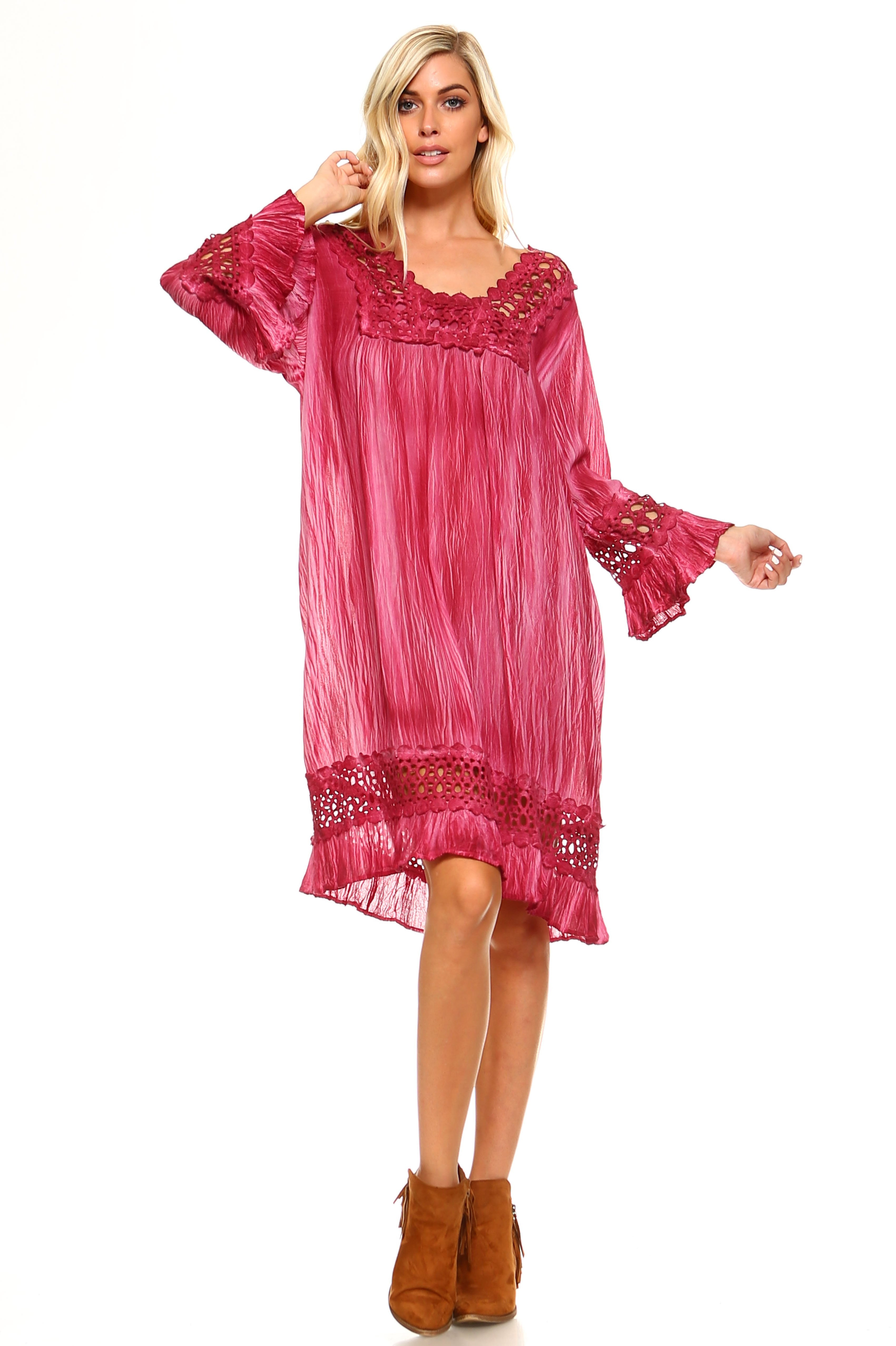 Crochet Tunic Dress