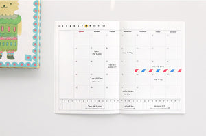 Becoming Planner 1 Month