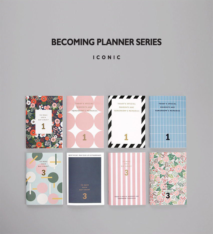 Becoming Planner 3 Month