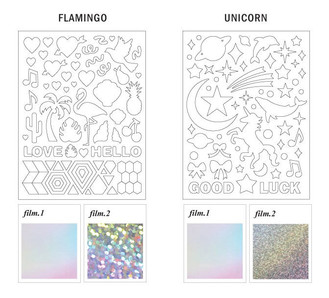 Stickers Hologram Deco Pack