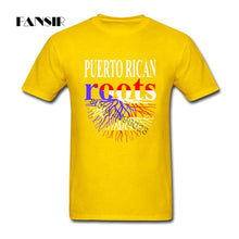 Puerto Rican Roots Puerto Rico Flag Men T Shirt Top Designing T-shirt Men Short Sleeve Cotton O-neck - aybendito