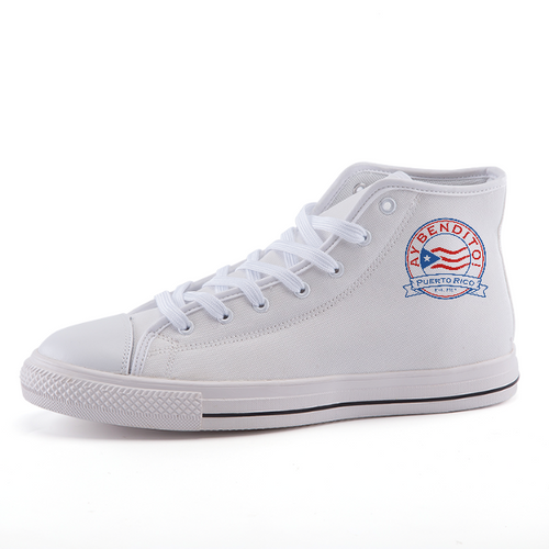High-top fashion canvas shoes - aybendito