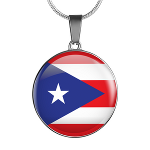 Puerto Rico Flag Custom Made Jewelry - aybendito