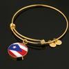 Puerto Rico Flag Custom Made Jewelry