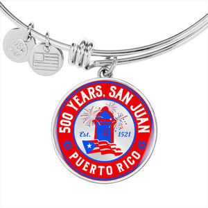 San Juan 500 Anniversary luxury bangle bracelet - aybendito