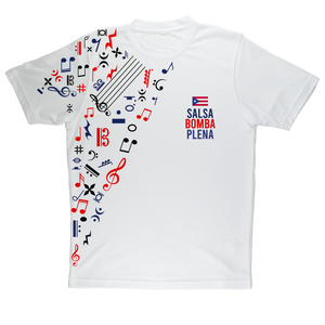 Salsa Bomba Plena Sublimation Adult T-Shirt - aybendito