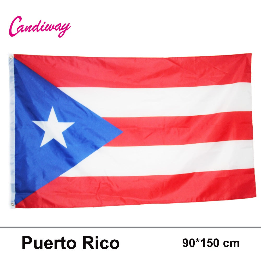 LARGE PUERTO RICAN FLAG - aybendito