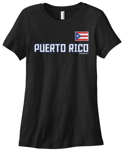 Women's Puerto Rico  T-shirt Flag Pride for Women Harajuku Brand Women Brand Top Harajuku T Shirt High Quality Top Tee