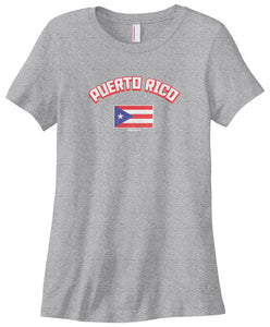 Women's Puerto Rican Flag T-shirt Puerto Rico Boricua PR Plus Size Cotton Short Sleeve Women T Shirt Women Summer Novelty - aybendito