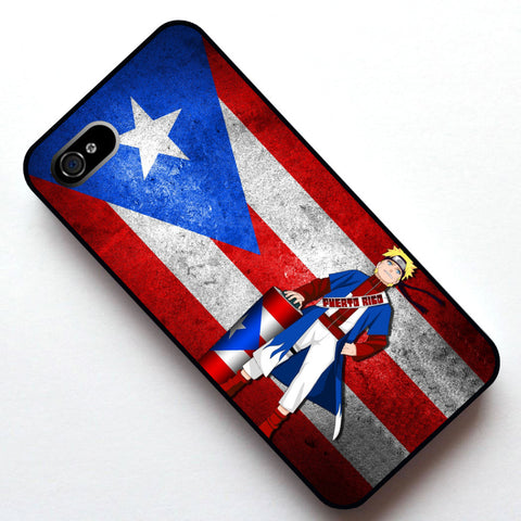 Puerto Rico Anime Naruto phone case