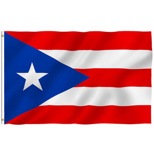 3x5 Ft Puerto Rico Rican State Flag Polyester Brass Grommets Outdoor - aybendito